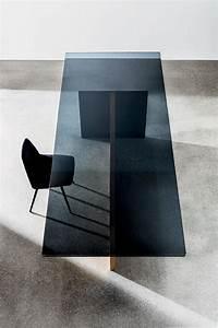 Holztisch Mit Glas : 30 wege um einen glas esstisch in ihren innenraum zu integrieren beste inspiration ~ Frokenaadalensverden.com Haus und Dekorationen