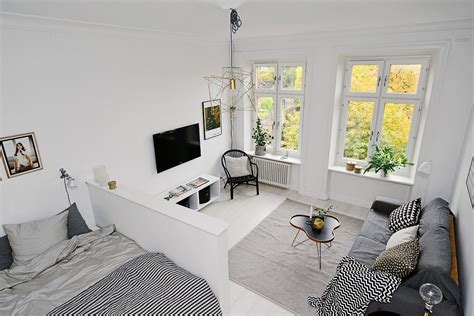 One Bedroom Apartment Interior Design Ideas by Minimalist Aesthetics Interior Design Scandinavian