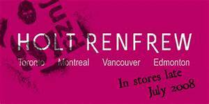 Holt Renfrew to Debut JUZD Bamboo Collection by Unknown ...