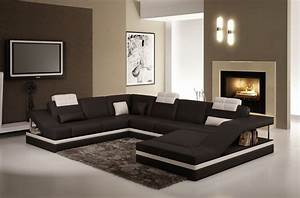canape d39angle grand elegance iii en cuir haut de gamme With canapé italien cuir vachette