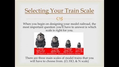 Which Model Train Scale Is Right For You Ho, N, O Scale