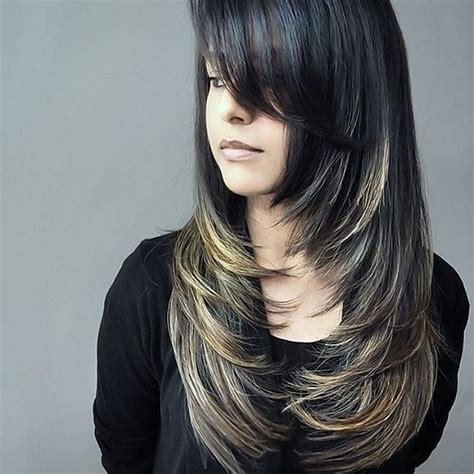style layered hair best 25 framing layers ideas on 3824