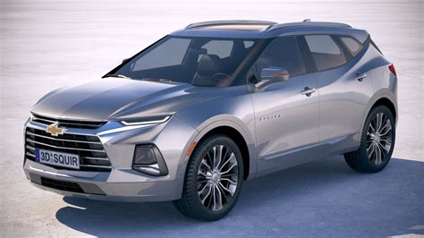 2019 Chevrolet Models by Chevrolet Blazer 2019 3d Model Turbosquid 1311541