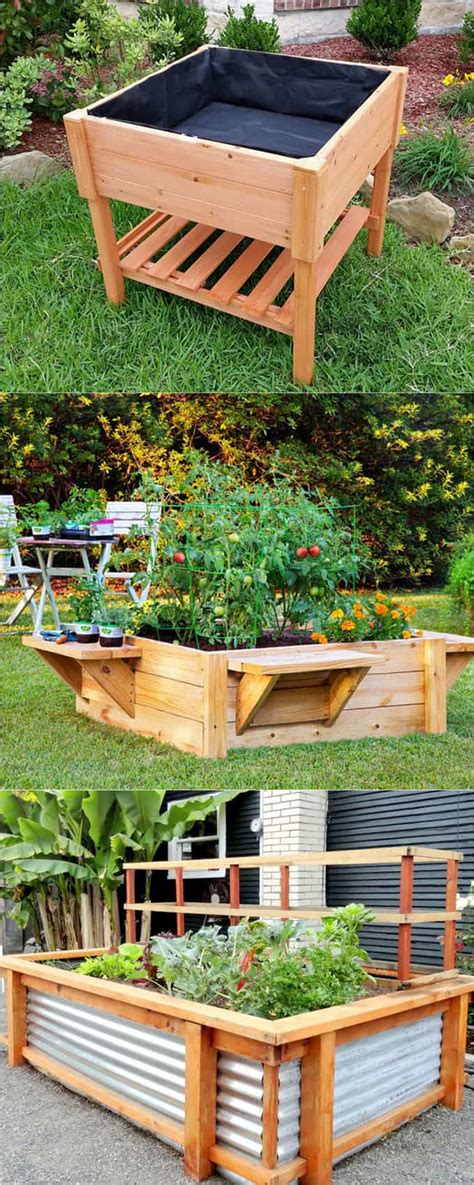 build raised garden bed 28 amazing diy raised bed gardens a of rainbow