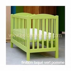 Tour De Lit Fille Pas Cher : lit bebe vert ~ Teatrodelosmanantiales.com Idées de Décoration