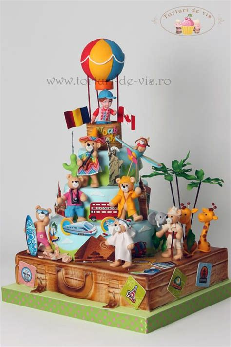 Trip Around The World Cakes And Cake Decorating ~ Daily