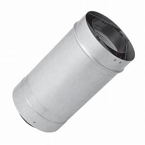 Rheem 24 In  Vent Length 3 In  X 5 In  Stainless Steel