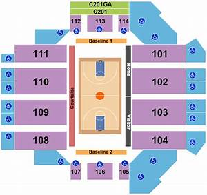 Sanford Pentagon Seating Chart Maps Sioux Falls