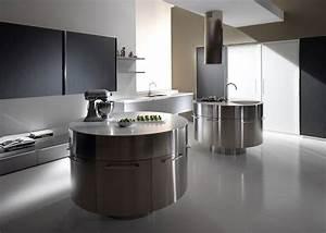 Ilot De Cuisine : ilot rond cuisine cuisine en image ~ Teatrodelosmanantiales.com Idées de Décoration