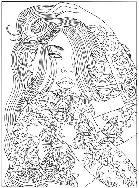 Pin by 🌹Zerrah💙 Rose🌹 on Coloring Pages | People coloring