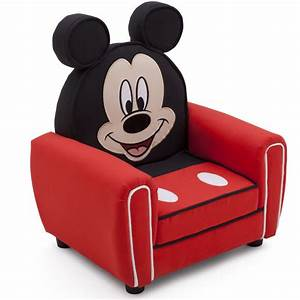 neuf fauteuil club oreilles mickey mouse disney ebay With nettoyage tapis avec canapé convertible mickey