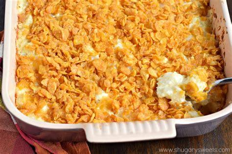 hashbrown casserole cheesy hashbrown casserole shugary sweets
