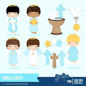 Boy Baptism Angel Clip Art
