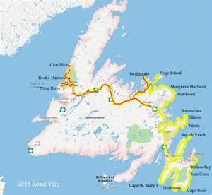 Newfoundland Island Map