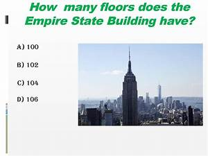 Do you know the usa for How many floors are on the empire state building
