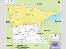218 Area Code Map, Where is 218 Area Code in Minnesota