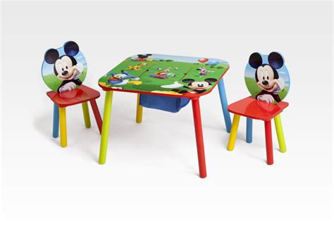 disney mickey mouse mickey mouse table chair set w