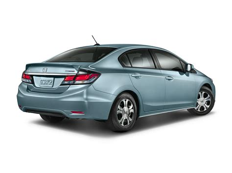 2015 Honda Civic Hybrid Mpg by 2015 Honda Civic Hybrid Price Photos Reviews Features