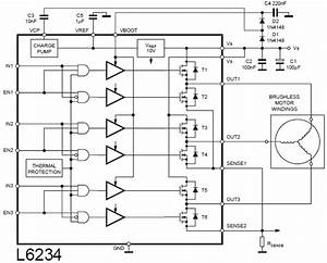 Bldc Motor Control Circuit Diagrams Datasheet