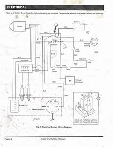 Ezgo Starter Generator Wiring Diagram In Golf Cart Gas For