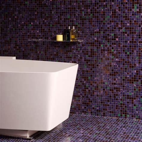 bathroom with mosaic tiles ideas floor to ceiling purple mosaic bathroom tiles bathroom