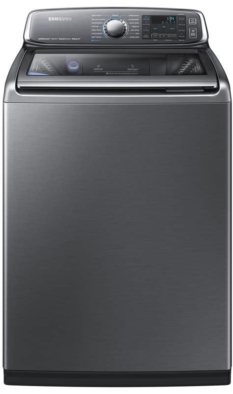 Samsung Platinum activewash Top Washer   WA52J8700APL