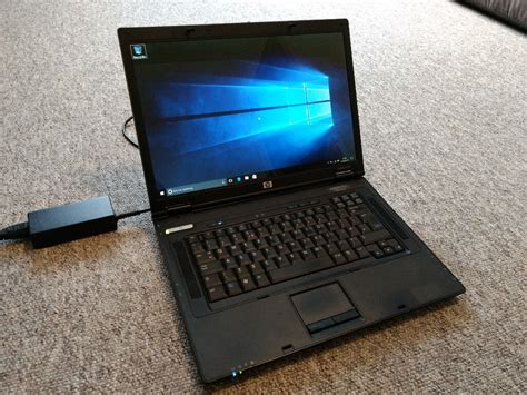 hp compaq nx laptop core  duo windows  pro