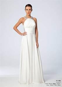 Robe Mi Longue Mariage : robe longue pour ceremonie de mariage robe de maia ~ Melissatoandfro.com Idées de Décoration