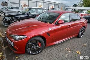 Alfa Romeo Giulia 2016 : alfa romeo giulia quadrifoglio 13 october 2016 autogespot ~ Gottalentnigeria.com Avis de Voitures