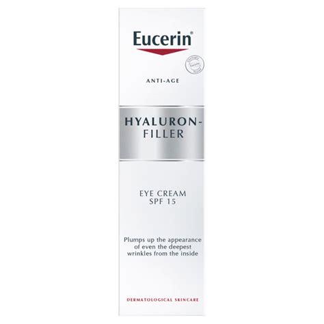 buy eucerin hyaluron filler eye treatment chemist direct