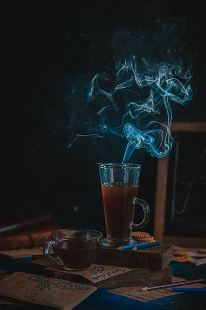 Coffee Steam Background 500px Iso Photograph Process