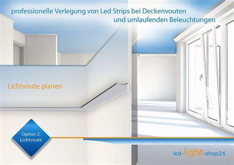 deckenbeleuchtung mit led streifen deckenbeleuchtung lichtvoute in led projekte led led