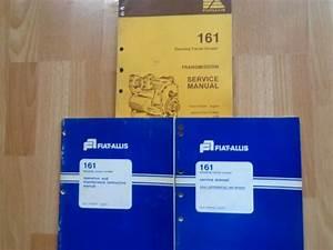 Fiat Allis 161 Elevating Tractor Scraper Service Manuals