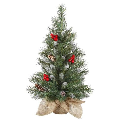 vickerman 27773 2 x 12 quot frosted tip mixed with red