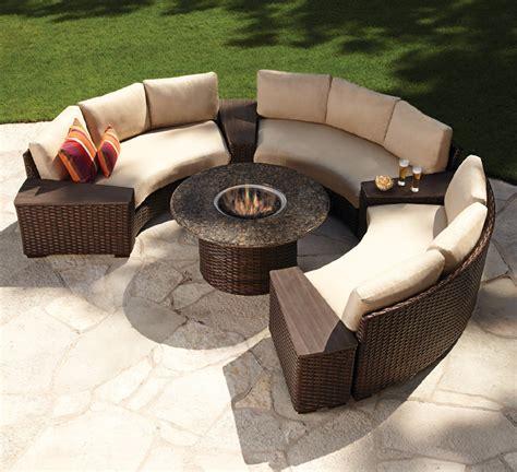patio furniture fire pit table set top 10 best fire pit patio sets