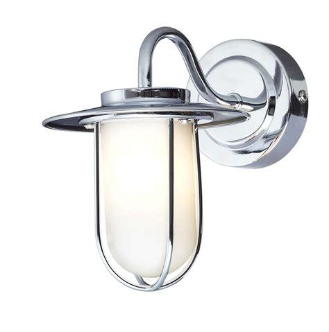 aiyana chrome effect single wall light departments diy at b q