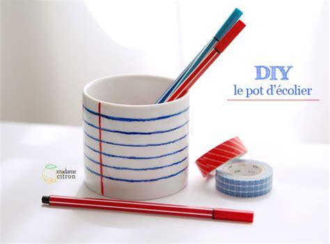 pot a crayon original tuto pot 224 crayon original 224 fabriquer madame citron de cr 233 ations et diy