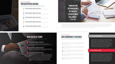 company profile  powerpoint template slidebazaar