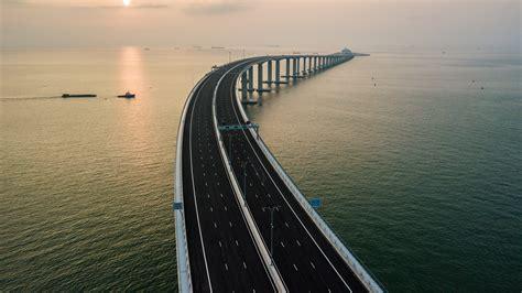 wallpaper hong kong zhuhai macau bridge china  travel
