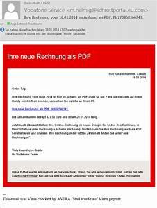 Rechnung Vodafone : deutsche telekom und vodafone wieder gef lschte rechnungen unterwegs ~ Themetempest.com Abrechnung