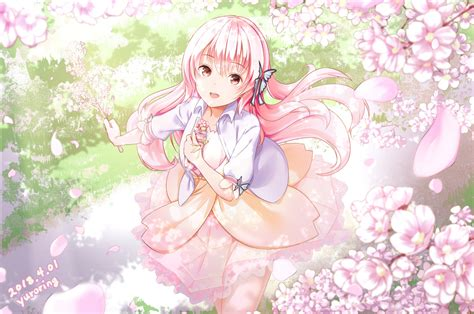 Wallpaper Anime Pink - pink anime wallpaper impremedia net