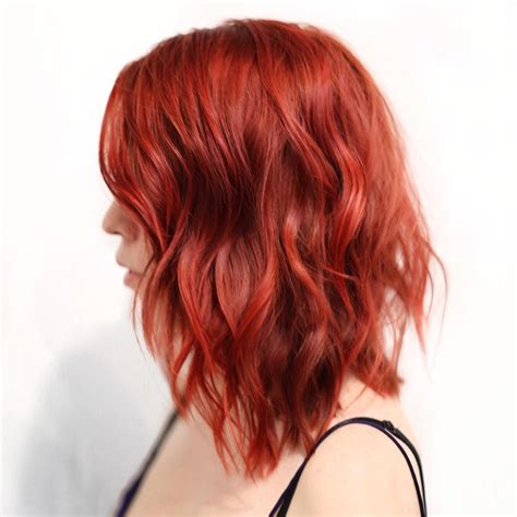 20 Cool Styles With Bright Red Hair Color Updated For 2018