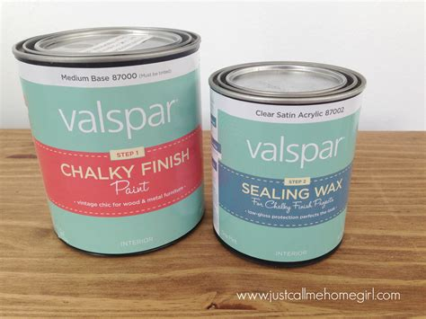 valspar s chalky finish paint makeover just call me homegirl