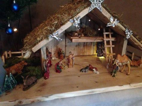 unique nativity stable ideas  pinterest nativity