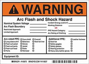 product articles 2015 nfpa 70e arc flash labeling changes With arc flash labels nfpa 70e