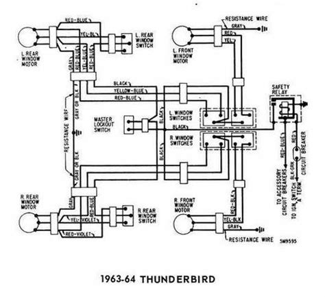 1960 Thunderbird Wiring Schematic by 1964 Thunderbird Engine Diagram 1964 Free Printable