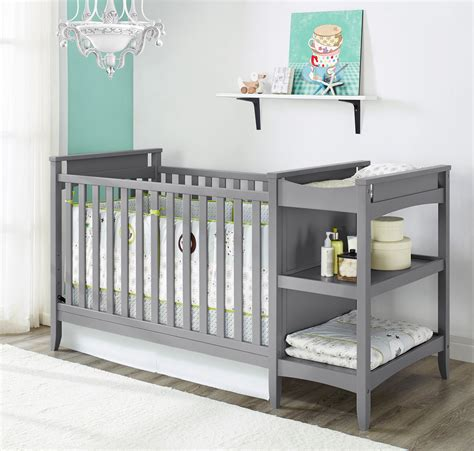 convertible cribs with changing table baby relax 2 in 1 convertible crib and changing table