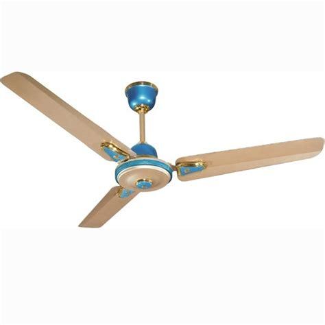 high velocity ceiling fan buy crompton high speed decora metallic 48 quot aqua gold