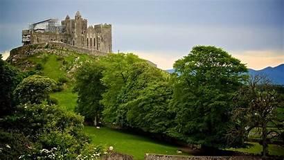 Ireland Cashel Rock Theme Background Wallpapers Castles