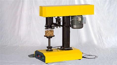 tabletop cans sealing machine semi automatic tin  sealer bench type kaleng mesin penyegel